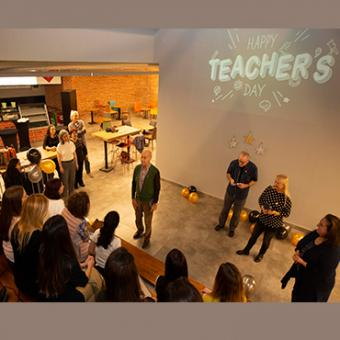Teacher Day was celebrated with a enjoyable party in SFL!